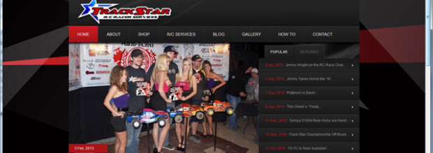 New Track Star RC Website!
